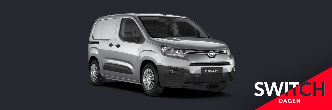 Switch naar de Toyota Proace City